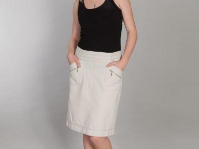 spódnica astra biała